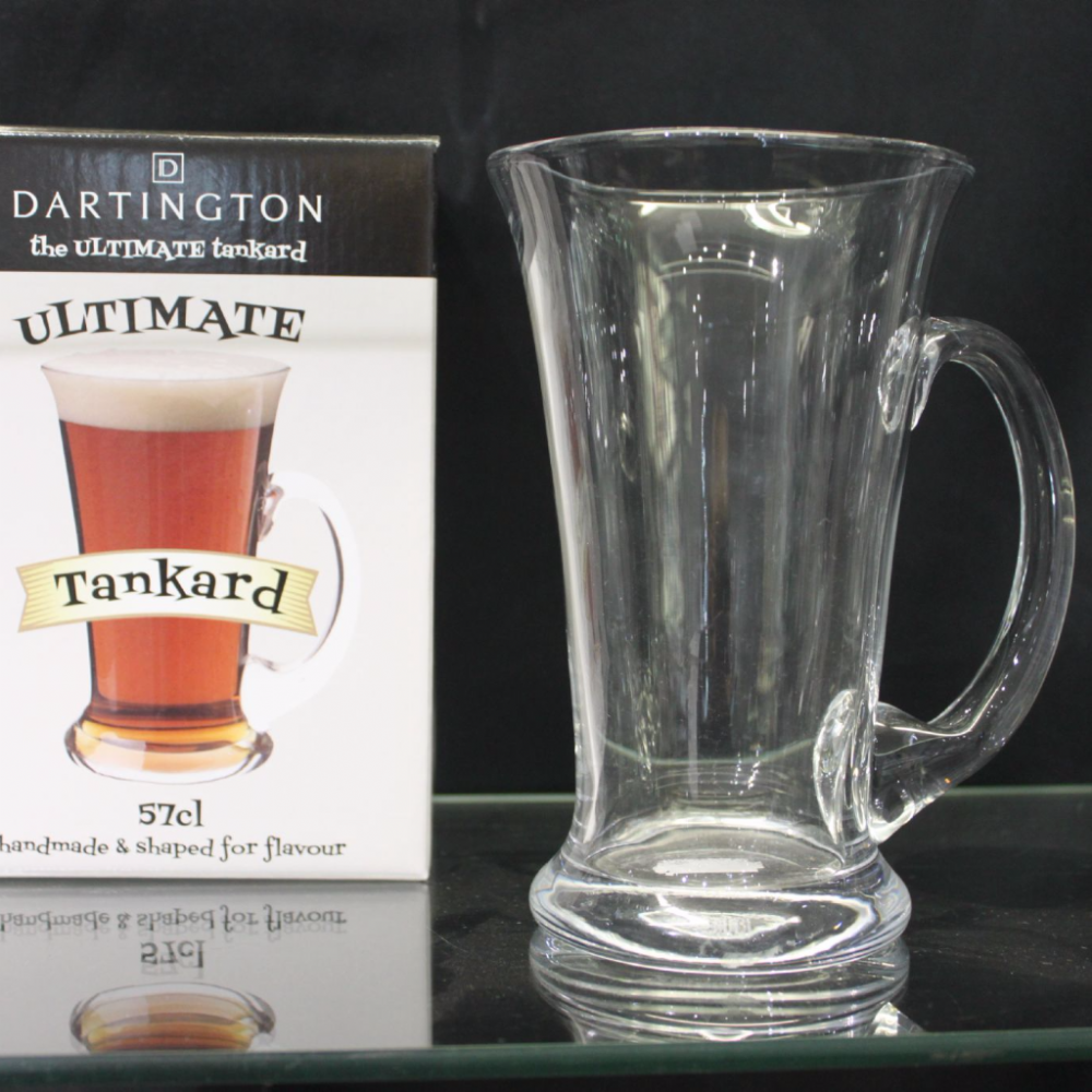 Engraved Dartington Ultimate Tankard
